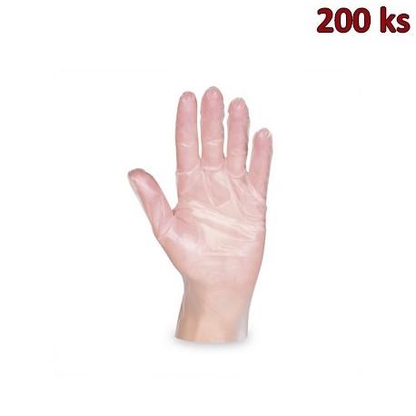 Jednorázové rukavice TPE (vel.M) [200 ks]