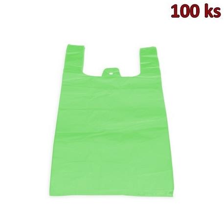 Tašky 10 kg zelené 30 + 14 x 50 cm [100 ks]