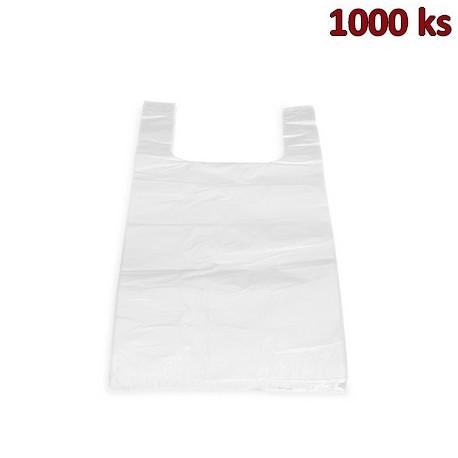 Tašky 5 kg LDPE bílé 25+12x47cm extra silné [1000 ks]