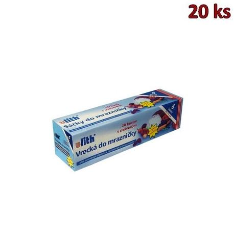 Sáčky do mrazničky 28x45cm, 6 l (EAN kód) [20 ks]