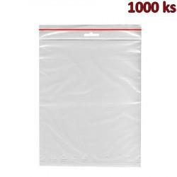 Rychlouzavírací sáčky ZIP 35 x 45 cm [1000 ks]
