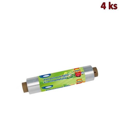 Potravinová fólie 30 cm x 300 m, 9 µm [4 ks]