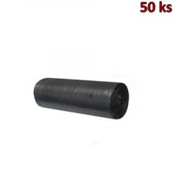 Sáčky do koše černé s křížovým dnem 50x60cm, 30 l [50 ks]