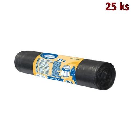 Sáčky do koše extra pevné černé 60x70cm, 60 l [25 ks]