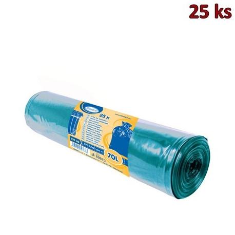 Pytle na odpadky modré 57,5x100cm,70 l, Typ 40 [25 ks]