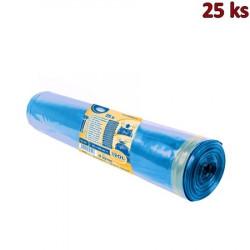 Pytle na odpad zatahovací modré 70 x 100 cm, Typ 60 [25 ks]