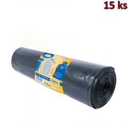 Pytle na odpadky černé 70x110cm,120 l, Typ 100 [15 ks]