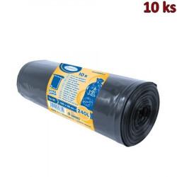 Pytle na odpadky černé 100x125cm, 240 l, Typ 80 [10 ks]