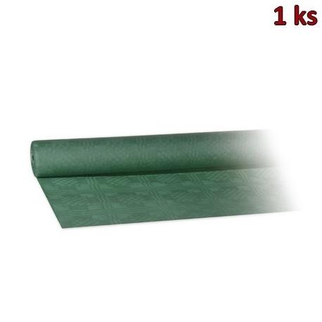 Papírový ubrus rolovaný 8 x 1,20 m tmavě zelený [1 ks]