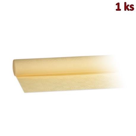 Papírový ubrus rolovaný 8 x 1,20 m béžový [1 ks]