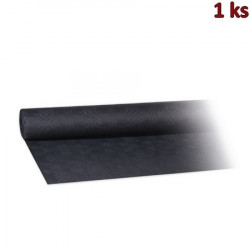 Papírový ubrus rolovaný 8 x 1,20 m černý [1 ks]