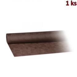 Papírový ubrus rolovaný 8 x 1,20 m hnědý [1 ks]