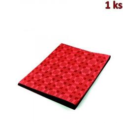 Papírový ubrus skládaný 1,80 x 1,20 m červený [1 ks]