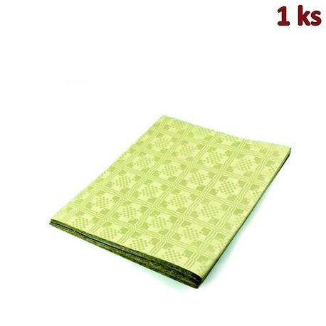 Papírový ubrus skládaný 1,80 x 1,20 m béžový [1 ks]