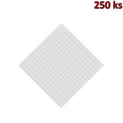 Papírový napron 80 x 80 cm bílý [250 ks]