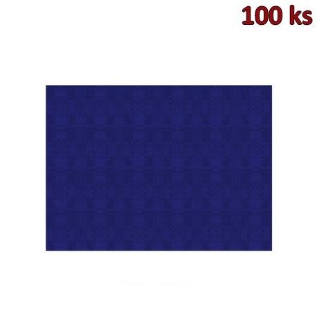 Papírové prostírání 30 x 40 cm tmavě modré [100 ks]
