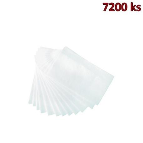 Ubrousky do zásobníku 1-vrstvé, 30 x 33 cm bílé [7200 ks]