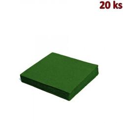 Papírové ubrousky tmavě zelené 33 x 33 cm 3-vrst [20 ks]