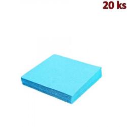 Papírové ubrousky světle modré 33 x 33 cm 3-vrst [20 ks]