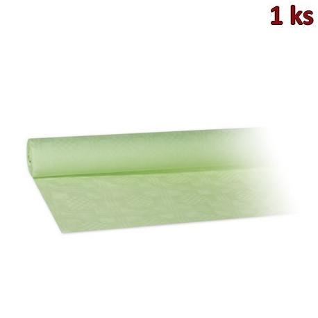 Papírový ubrus rolovaný 8 x 1,20 m žlutozelený [1 ks]