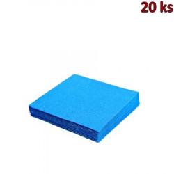 Papírové ubrousky modré 33 x 33 cm 3-vrst [20 ks]