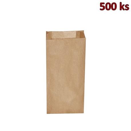 Svačinové papírové sáčky hnědé 2,5 kg (15+7 x 35 cm) [500 ks]