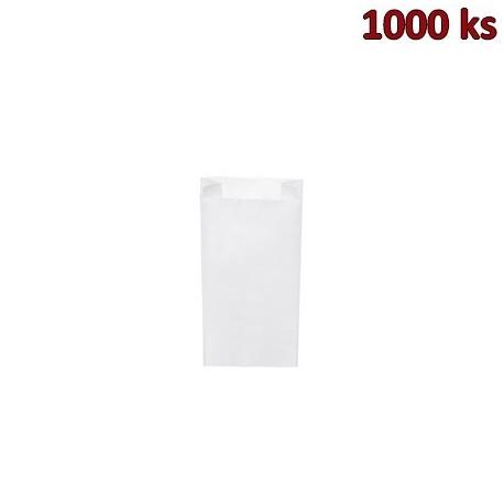 Svačinové papírové sáčky bílé 0,5 kg (10+5 x 22 cm) [1000 ks]