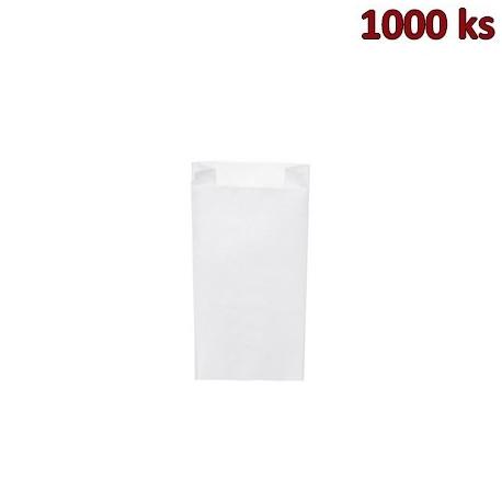 Svačinové papírové sáčky bílé 1 kg (12+5 x 24 cm) [1000 ks]