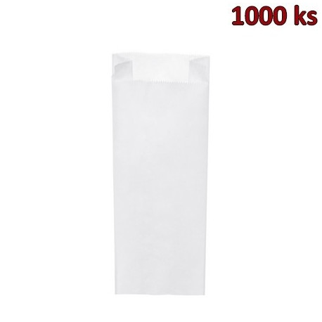 Svačinové papírové sáčky bílé 3 kg (15+7 x 42 cm) [1000 ks]
