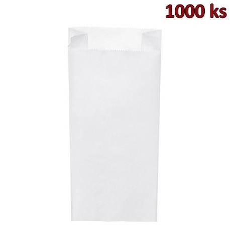 Svačinové papírové sáčky bílé 5 kg (20+7 x 45 cm) [1000 ks]