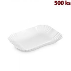 Papírové misky hranaté 13 x 17,5 x 3 cm [250 ks]