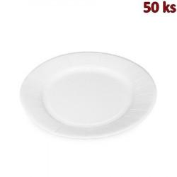 Papírové talíře mělké Ø 29 cm nepromastitelné [100 ks]