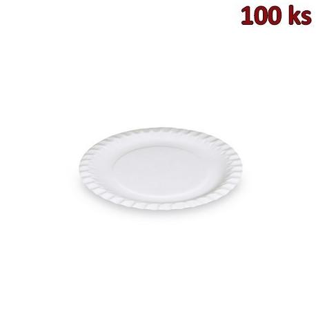 Papírové talíře mělké Ø 18 cm [100 ks]