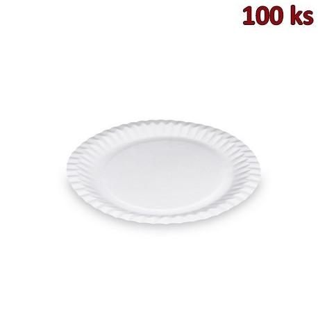 Papírové talíře mělké Ø 23 cm [100 ks]