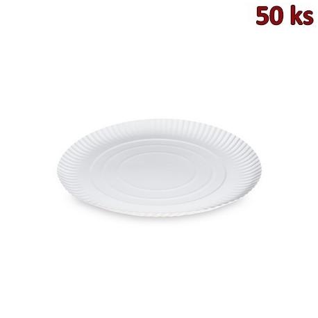 Papírové talíře hluboké Ø 26 cm [50 ks]
