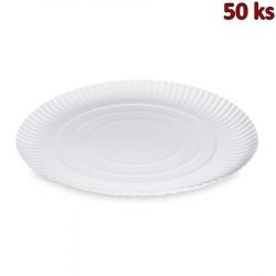 Papírové talíře hluboké Ø 34 cm [50 ks]