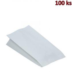Papírové sáčky nepromastitelné bílé 15+8 x 30 cm [100 ks]