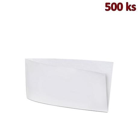 Papírové sáčky (HOT DOG) bílé 9 x 19 cm [500 ks]