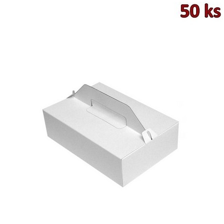 Nosič na zákusky 27 x 18 x 8 cm [50 ks]