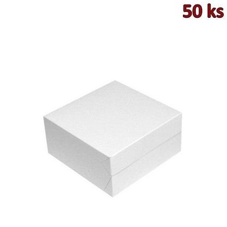 Krabička na výslužky 18 x 18 x 9 cm [50 ks]