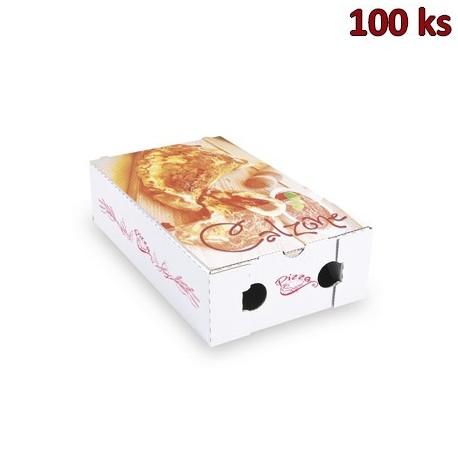 Krabice na pizzu CALZONE 27 x 16,5 x 7,5 cm [100 ks]