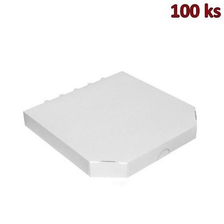 Extra pevná krabice na pizzu 30 x 30 x 3 cm [100 ks]