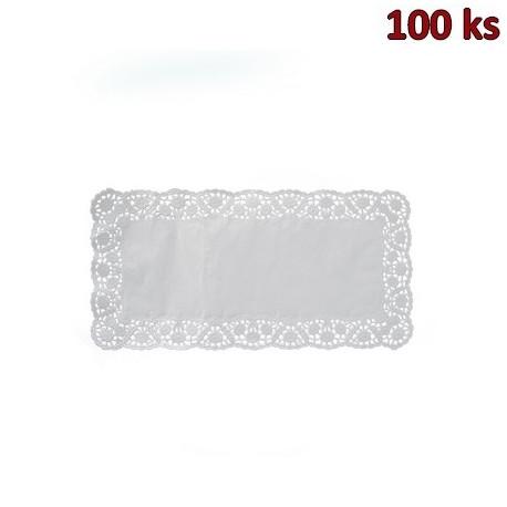 Dekorativní krajky hranaté 15 x 24 cm [100 ks]
