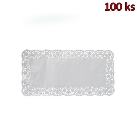 Dekorativní krajky hranaté 18 x 30 cm [100 ks]