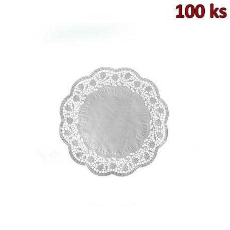 Dekorativní krajky kulaté Ø 16 cm [100 ks]