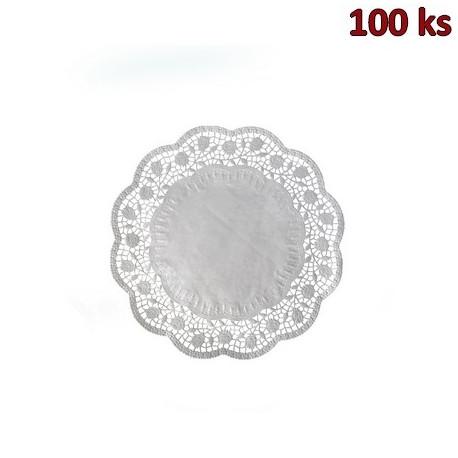 Dekorativní krajky kulaté Ø 20 cm [100 ks]