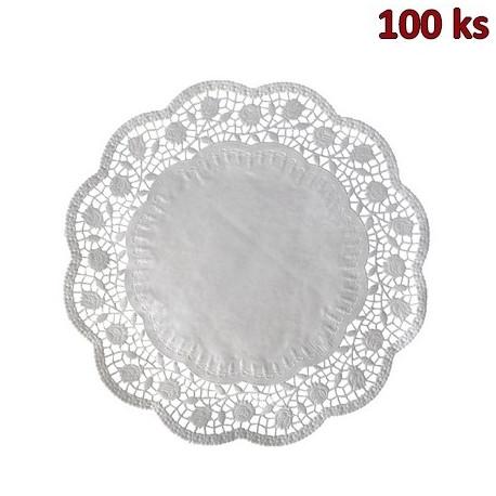 Dekorativní krajky kulaté Ø 38 cm [100 ks]
