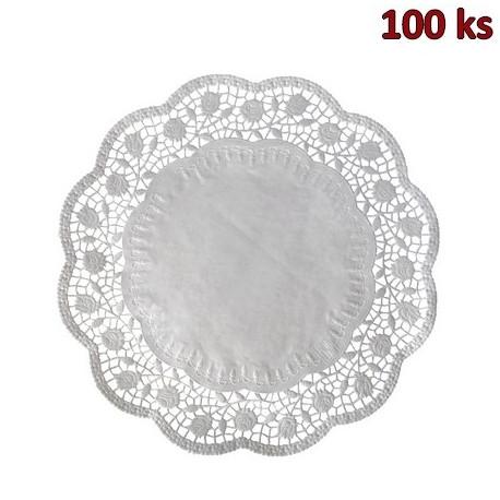 Dekorativní krajky kulaté Ø 40 cm [100 ks]