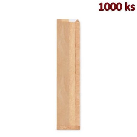 Papírové sáčky na bagety s okénkem (12+4 x 59 cm, ok.6 cm) [1000 ks]