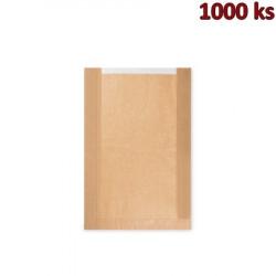 Papírové sáčky na kulatý chléb s okénkem (26+7 x 40 cm, ok.19 cm) [1000 ks]